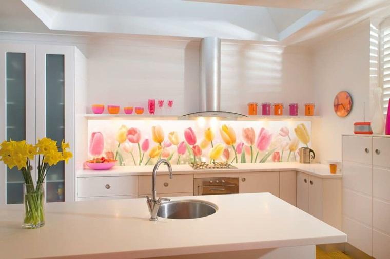 Decoracion de cocinas modernas con paneles de pared para - Decoracion con paneles ...