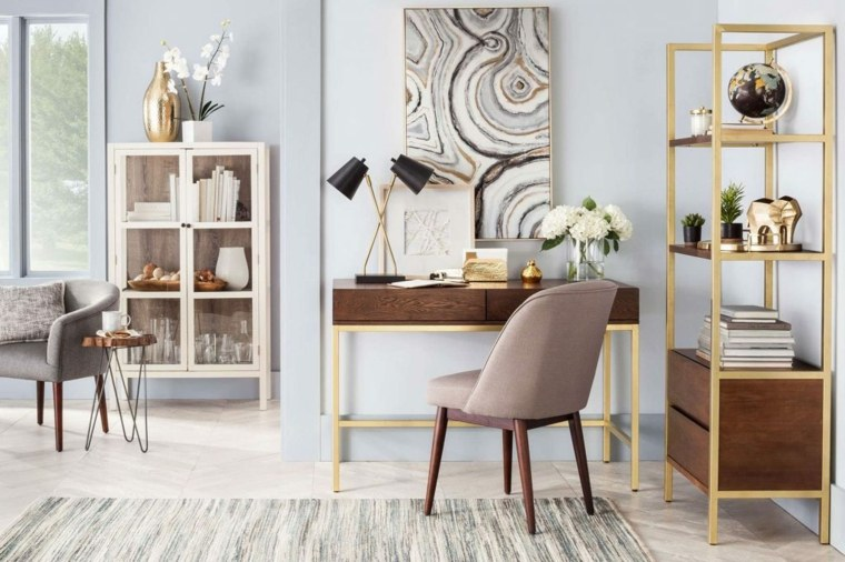 decoracion de interiores-acentos-dorados