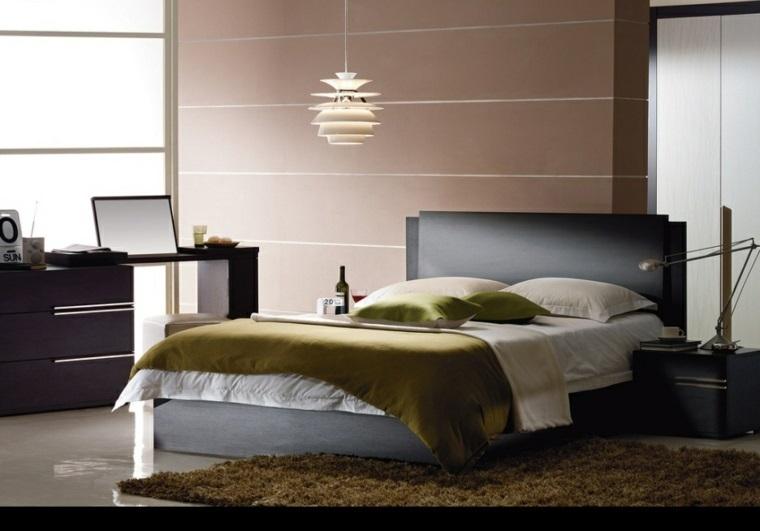 decoracion de interiores-dormitorios-acentos-dorados