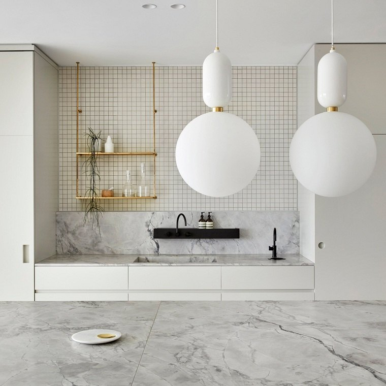 decoracion-para-cocinas-combinacion-marmol-mosaico-blanco