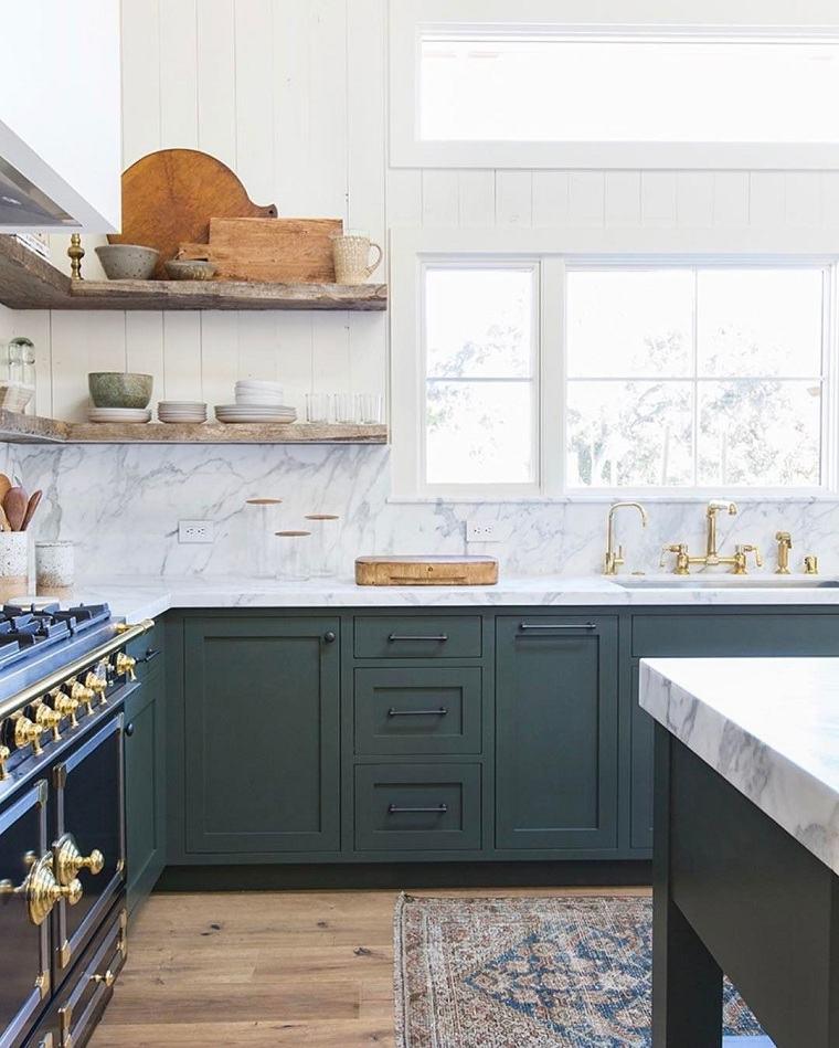 decoracion-para-cocinas-muebles-verdes-tendencias