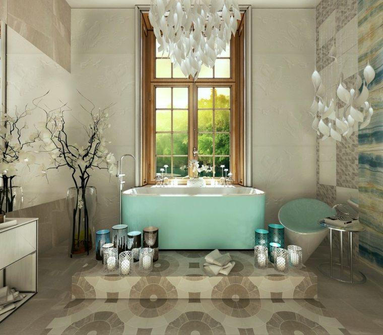 decoraciones para el hogar-banos-primavera