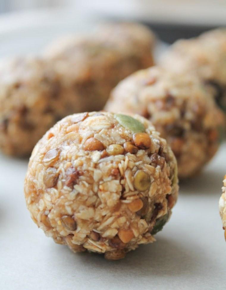 desayunos saludables bolas