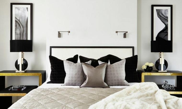 diseno de interiores de casas-acentos-dorados