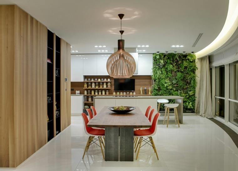 diseno-interiors-blanco-madera--comedor-ideas