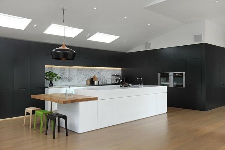 disenos-cocinas-negro-blanco-madera-jessop-architects