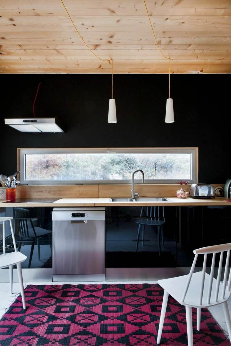diseños de cocinas modernas -estilo-eclectico