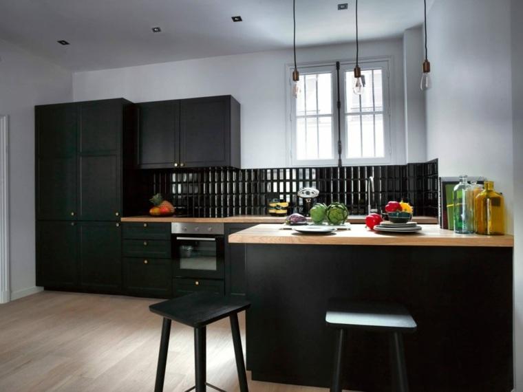 disenos-de-cocinas-modernas-negro-madera-Maureen-Karsenty-ideas