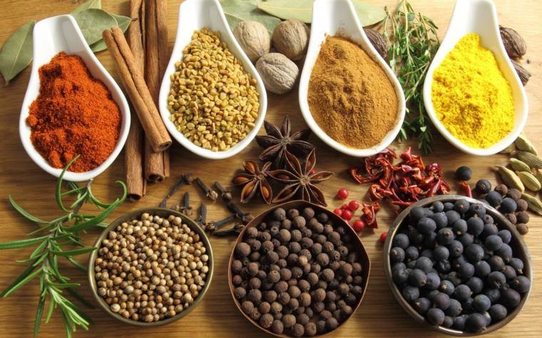 especias comida arabe