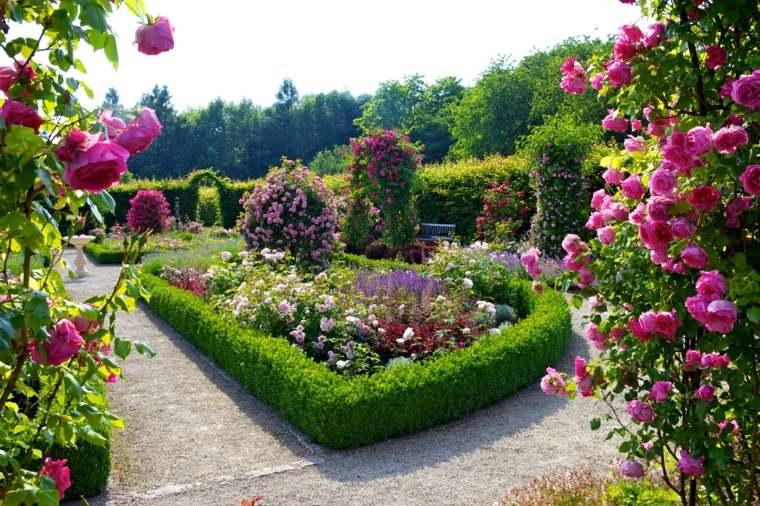 especies de flores-riego-plantas-jardines