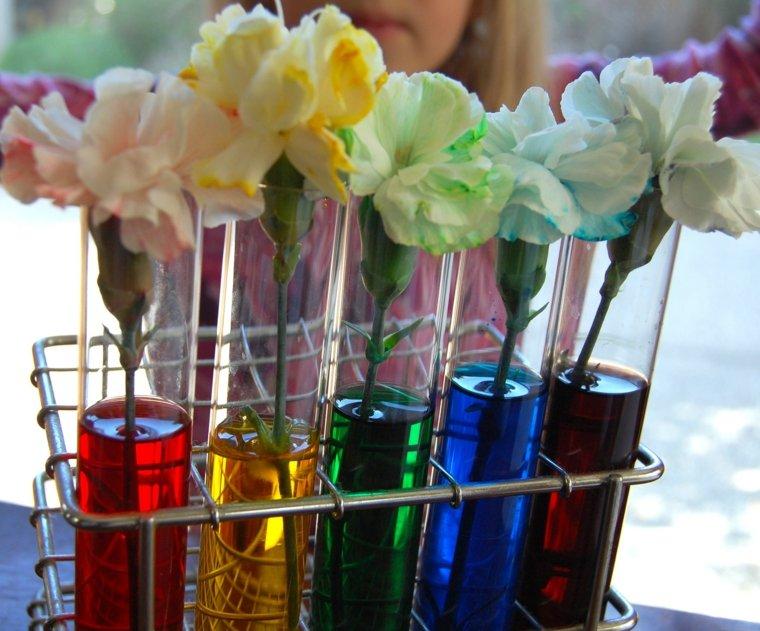experimentos para niños flores