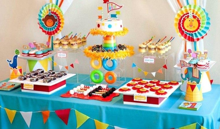 ideas para cumpleaños decoración-en-colores