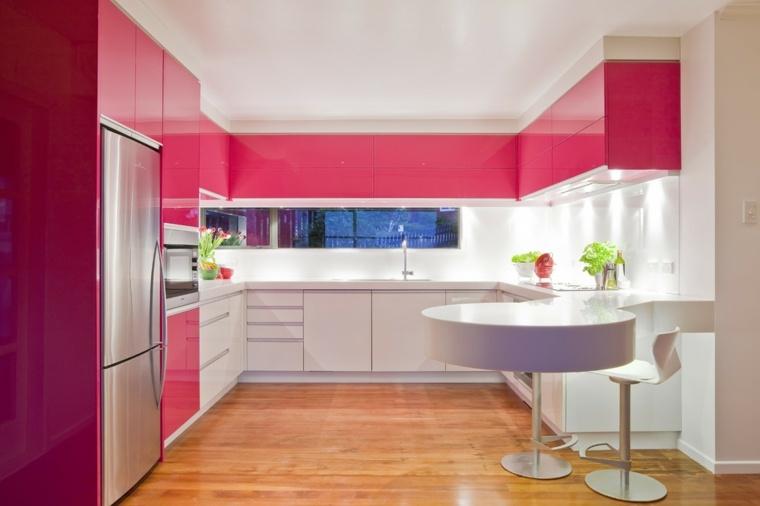 ideas para decorar mi casa-cocina-colores