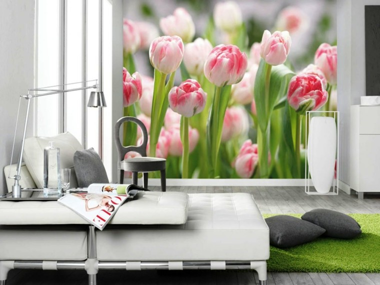 ideas para decorar mi casa-dormitorio-primavera