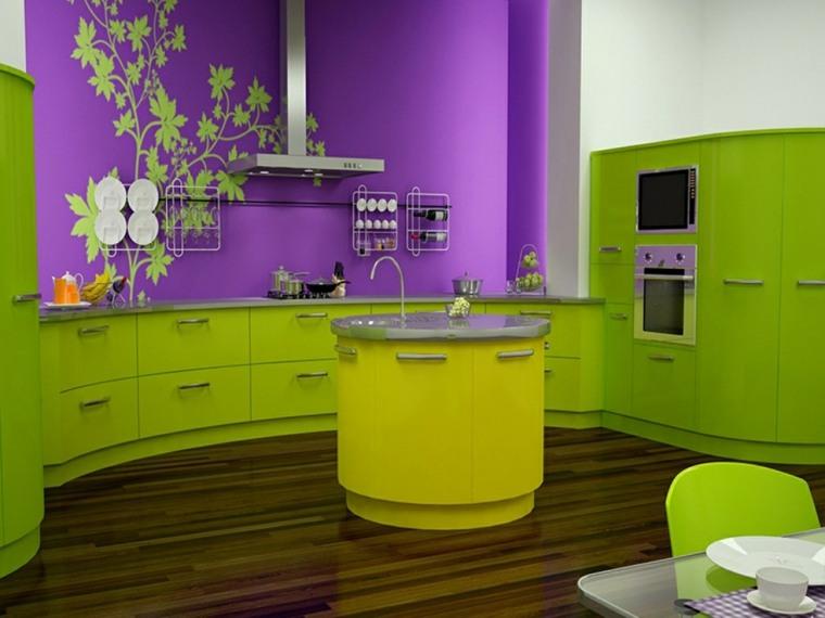 ideas para decorar mi casa-primavera-cocina