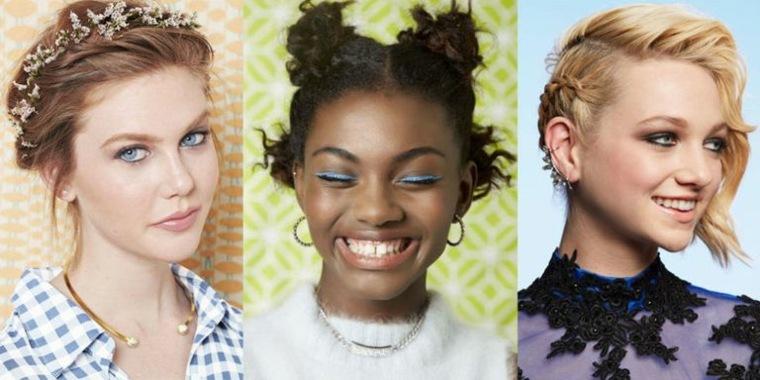 peinados sencillos para chicas