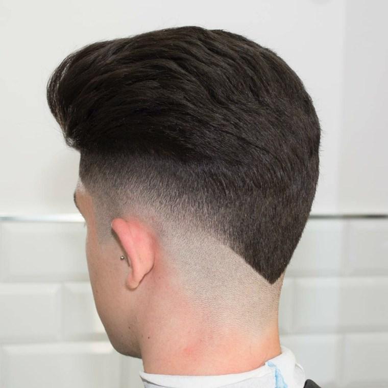 Corte de cabello masculino fade