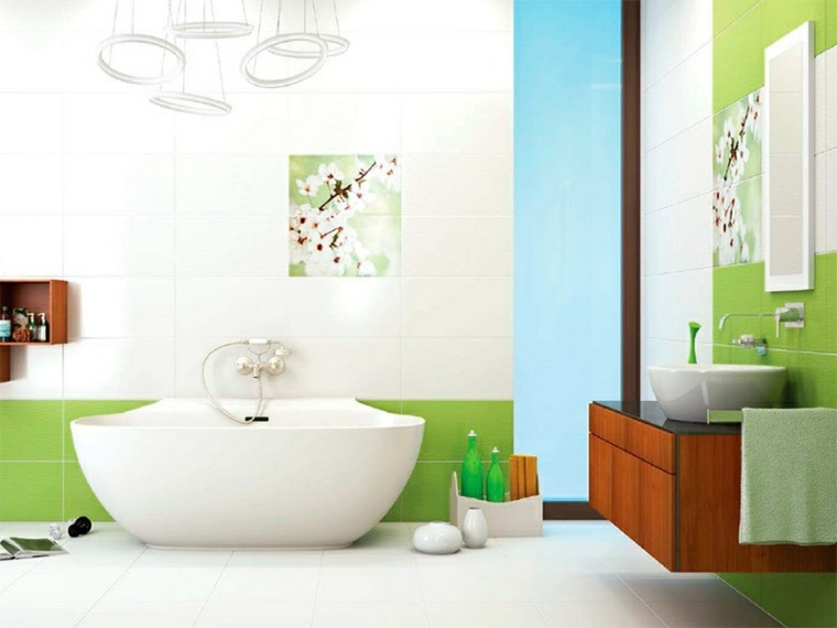 interiores de casas modernas-banos-primavera