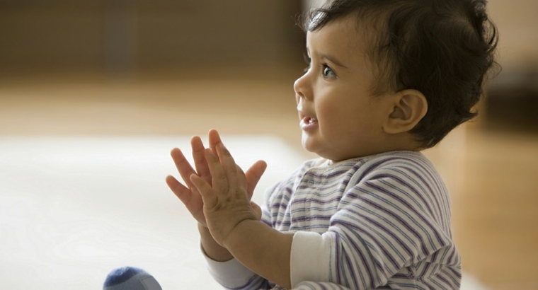 juegos para niños de un año aplaudir