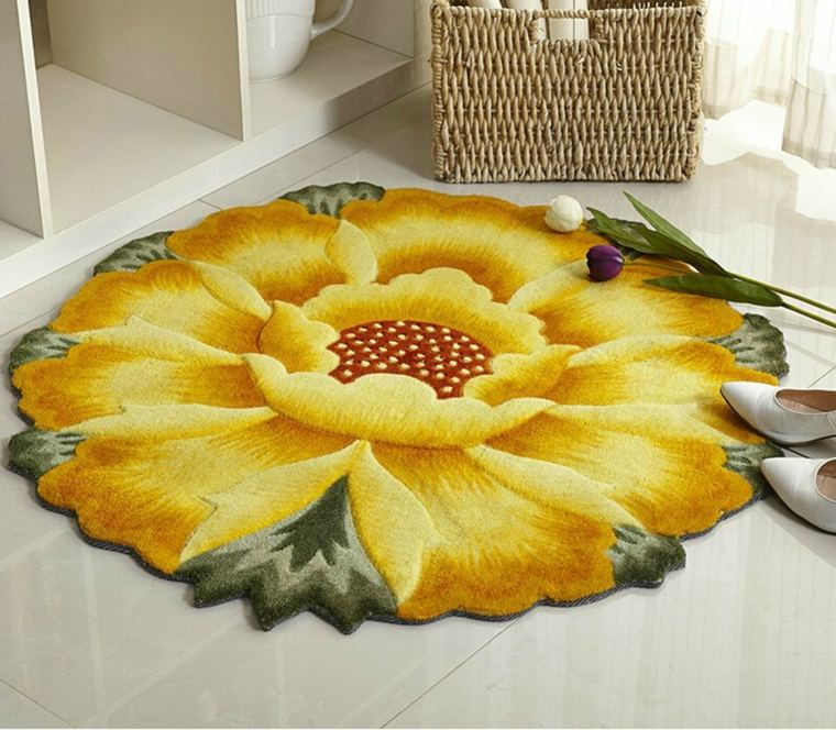 los girasoles-decoracion-interior-alfombras