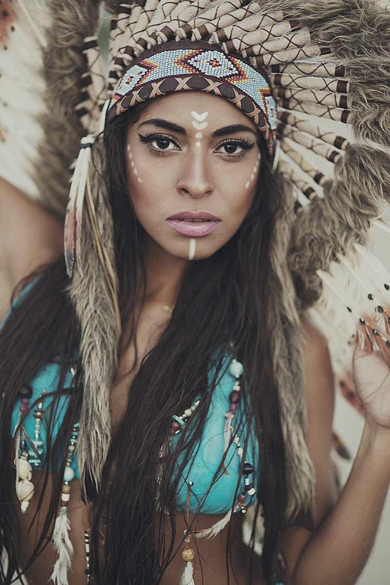 maquillaje de ojos-cara-femenino-carnaval