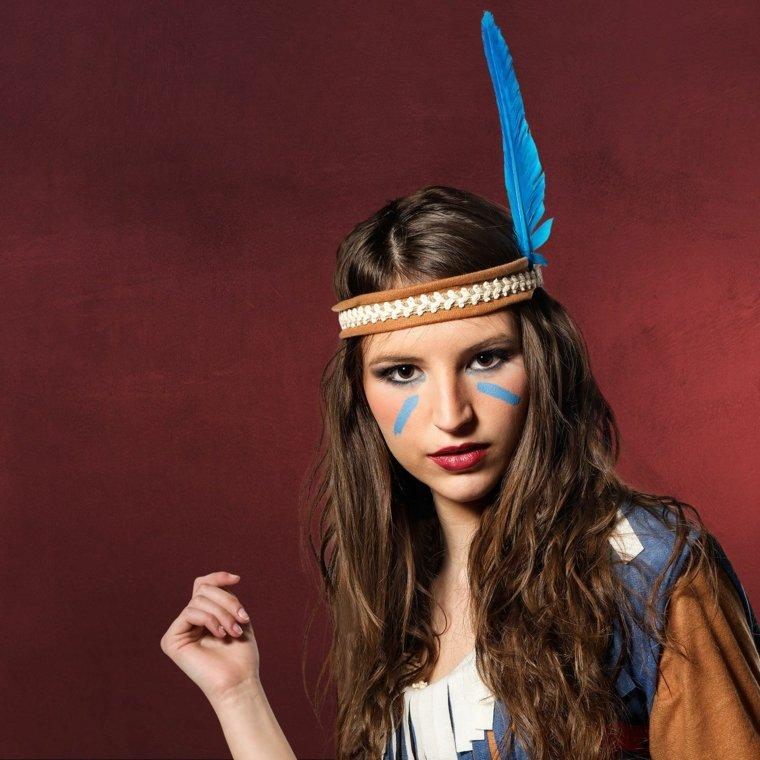 maquillaje de ojos-cara-indigena-carnavales