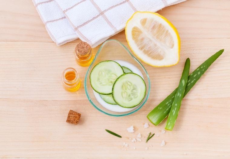 mascarillas para el rostro-acne-limon-aloe