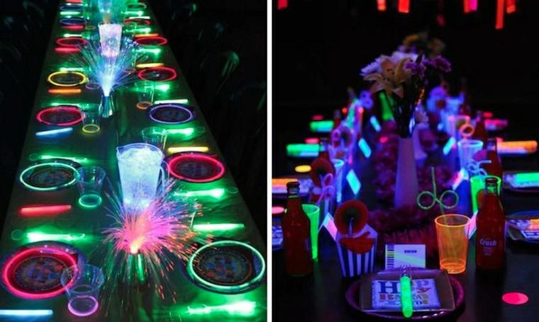 Ideas De Decoración Fluorescente Para Tu Fiesta De Cumpleaños