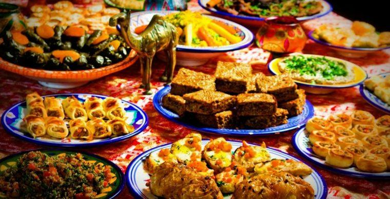platos comida arabe