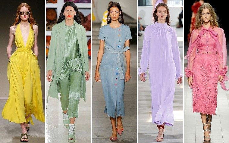 moda para mujer-colores-ideas-vestidos