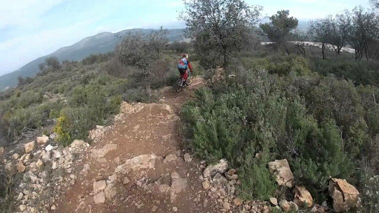 caminos de MTB en España