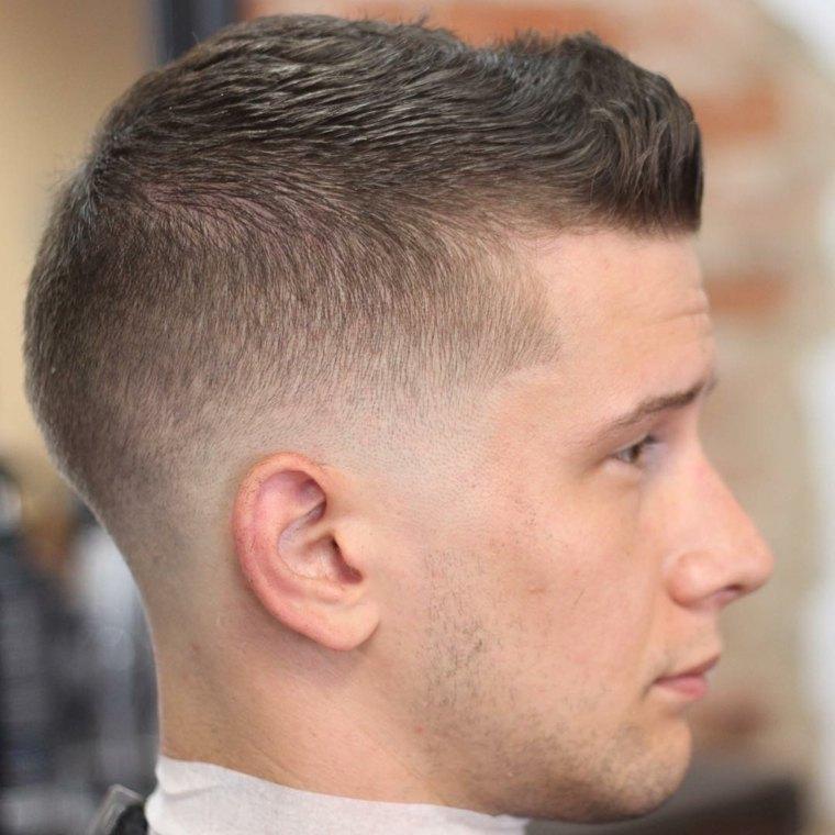 nuevos cortes de cabello-fade-hombres-modernos