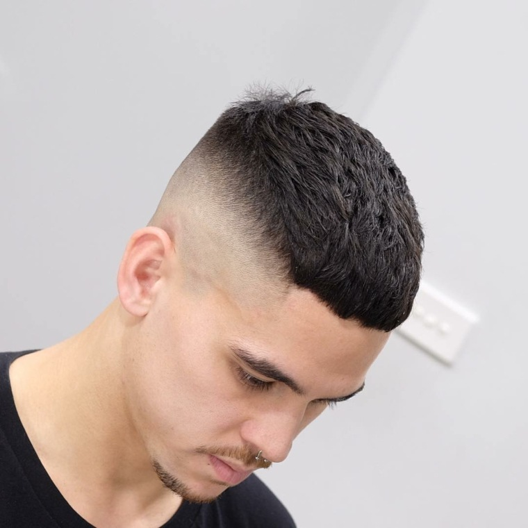 nuevos cortes de cabello-fade-hombres