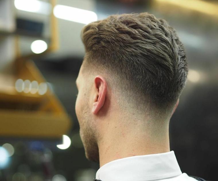 nuevos cortes de cabello-fade-moda