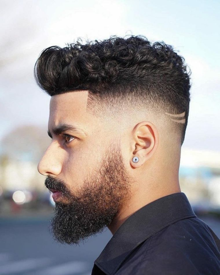 nuevos cortes de cabello-hombre-fade
