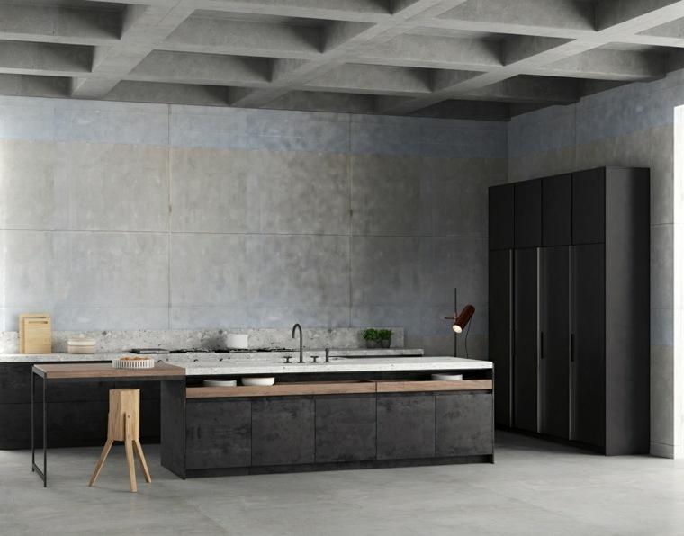 opciones-cocina-diseno-original-negro-madera