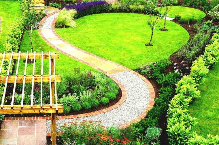 pasto para jardin-moderno-bonito