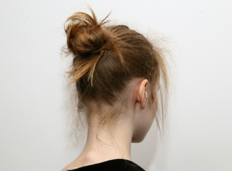 peinados faciles de hacer-monos-pelo-sucio