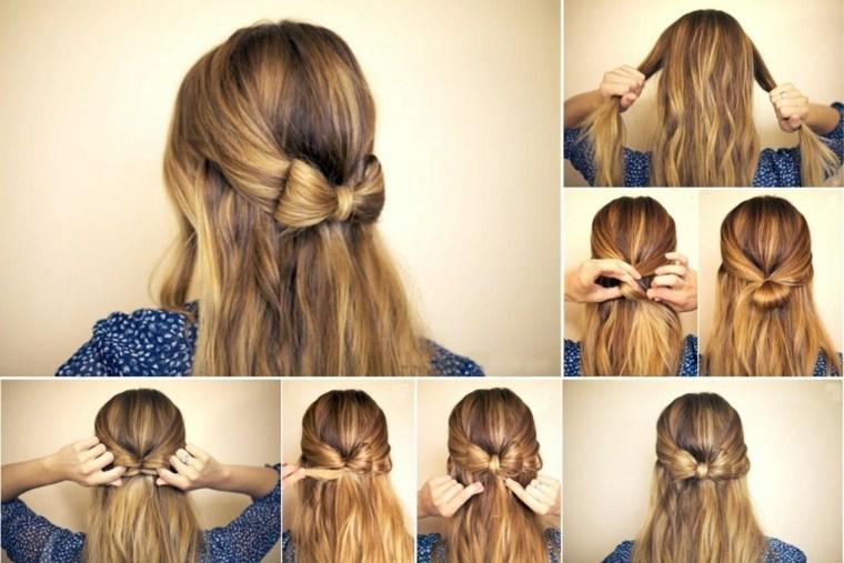 peinados faciles y rapidos-playa-lazo