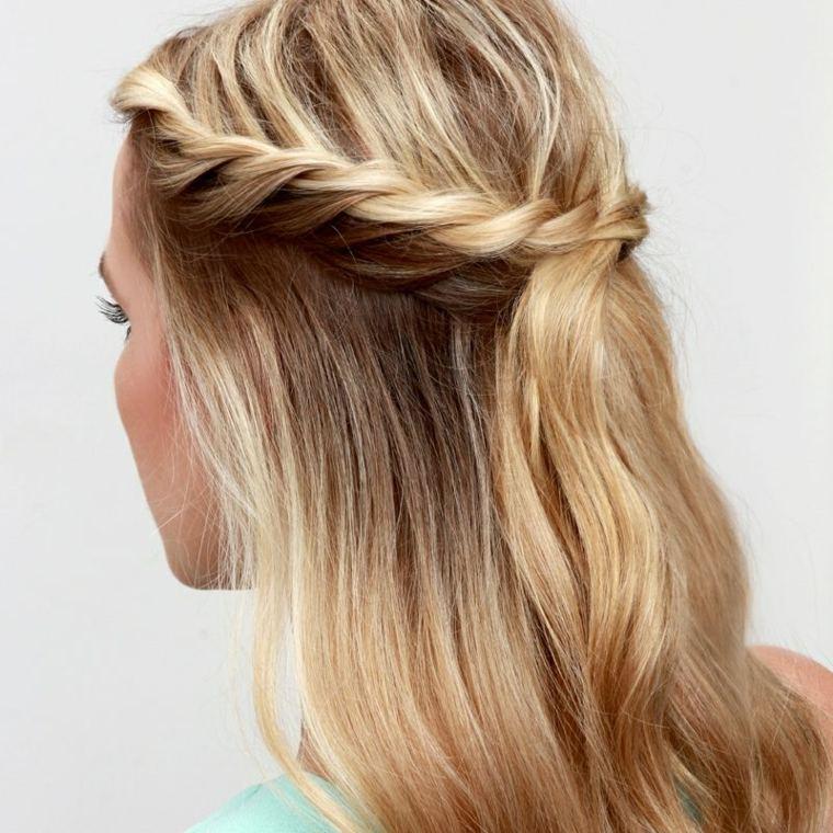 peinados faciles y rapidos-semirecogidos-play