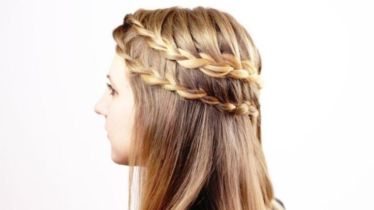 peinados para-playa-trenzas-faciles