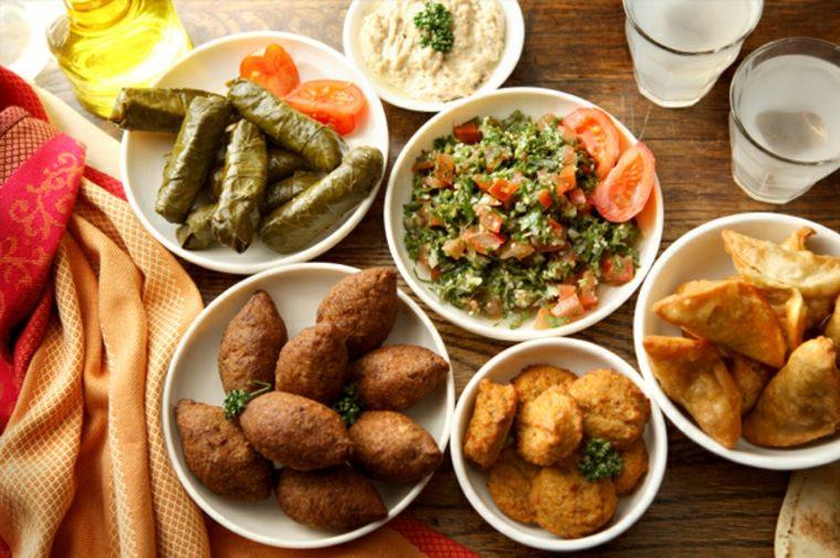 recetas de comida arabe