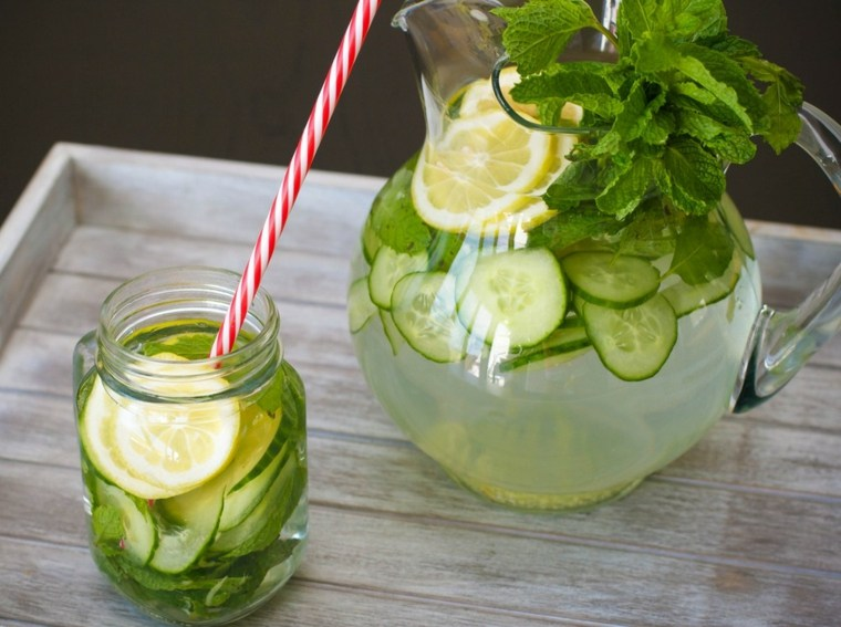 recetas de cocteles-sin-alcohol-agua-pepino