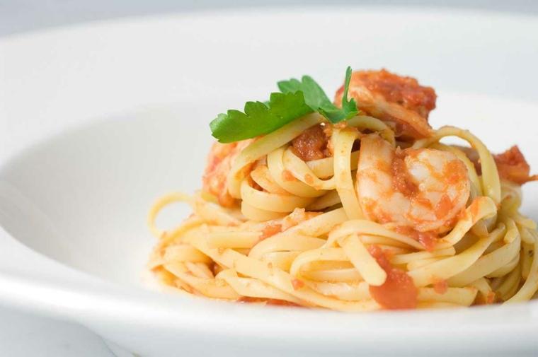 recetas de espagueti-gambas-casa