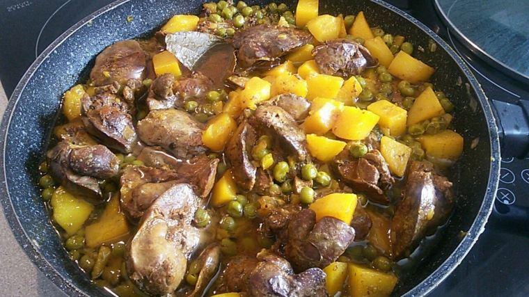 recetas para cocinar-higado-patatas
