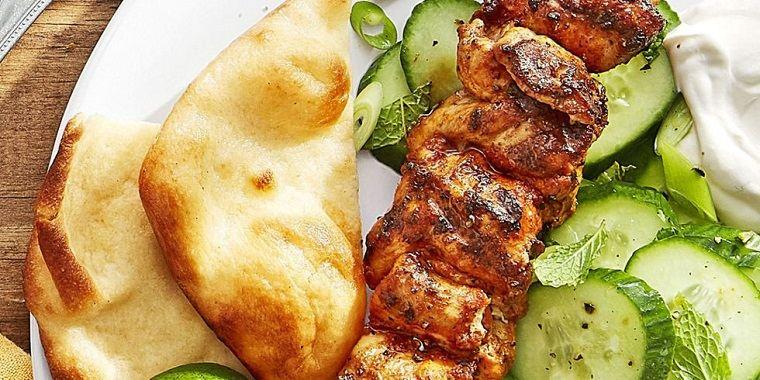 recetas rápidas-ensalada-pollo-pepino-ideas