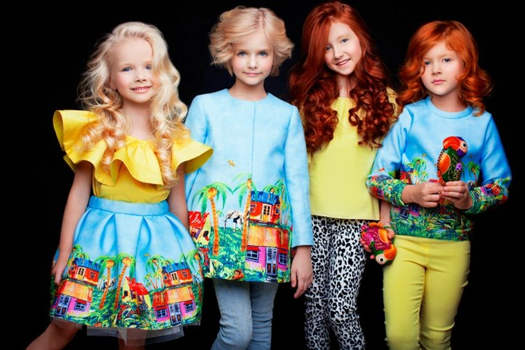 ropa infantil de-moda