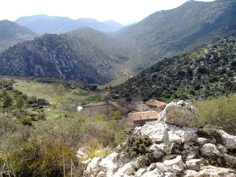 vistas del paisaje