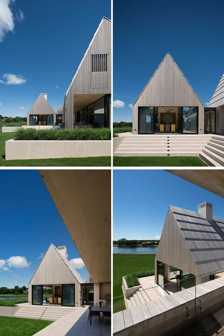 tablones de madera formas angulares