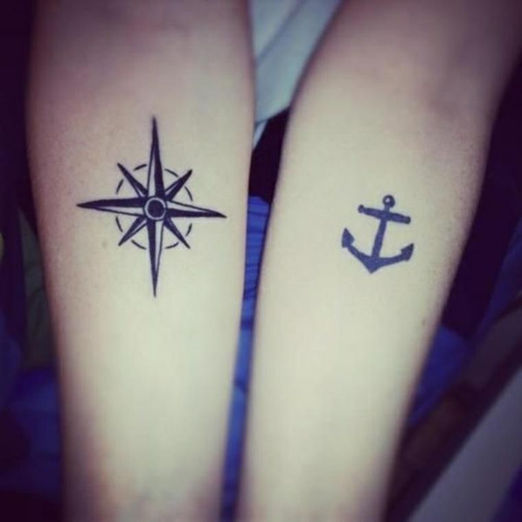 tatuaje-de-compás-y-ancla